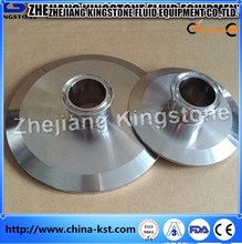 Stainless Steel Sanitary End Cap with flare threaded npt male