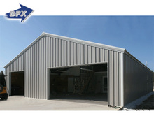Turnkey Project Prefab Metal Roof Warehouse for Sale