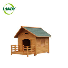 Cheap fashion soft wooden/mdf outdoor dog house