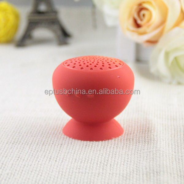 Mushroom Mini Wireless Suction Cup Bluetooth Speaker S02