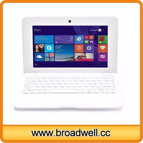 Cheapest 10 inch Inter Quad Core CPU HD Screen Windows 10 Laptop Computer With WIFI Bluetooth RJ45