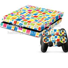Wholesale Decal Skin For PS4 Console Skin Plus 2 New Controller Sticker