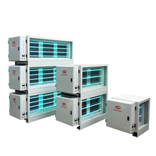 98% Fume Removal Rate Commercial Kitchen Fume Esp With Uv Photolysis Electrostatic Precipitator
