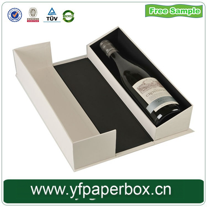 750ml Single Eco-friendly Wooden Wine Bottle Box,Best price Wine Carrier Box Wholesale