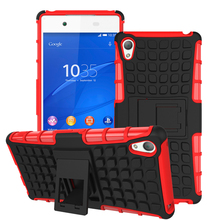 For Sony Ericsson Z4 Case, Good quality protactive phone case back cover high protective with magnet kickstand