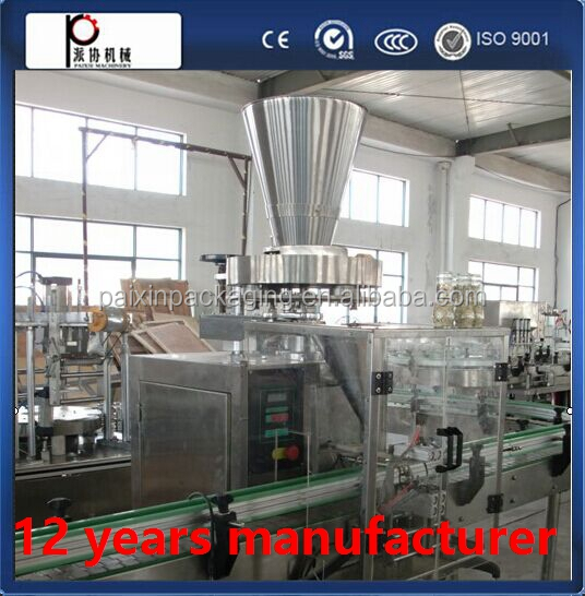 Top supplier applied to whey protein powder class bottling machine