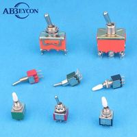 SPST ON-OFF type 15 amp toggle switch