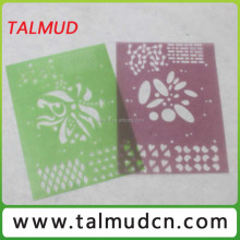 Customized Model flowers stencil for drawing
