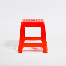 Small Square Plastic Stool Indoor living Room Stool Furniture