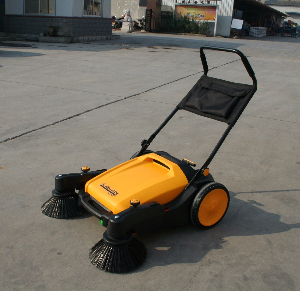broom box sweeper machine brush mini cleaning machine floor street road equipment