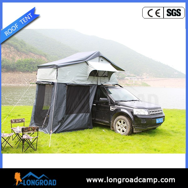 Outdoor Canvas Bell Camping Roof Top Tent Ladder For Sale