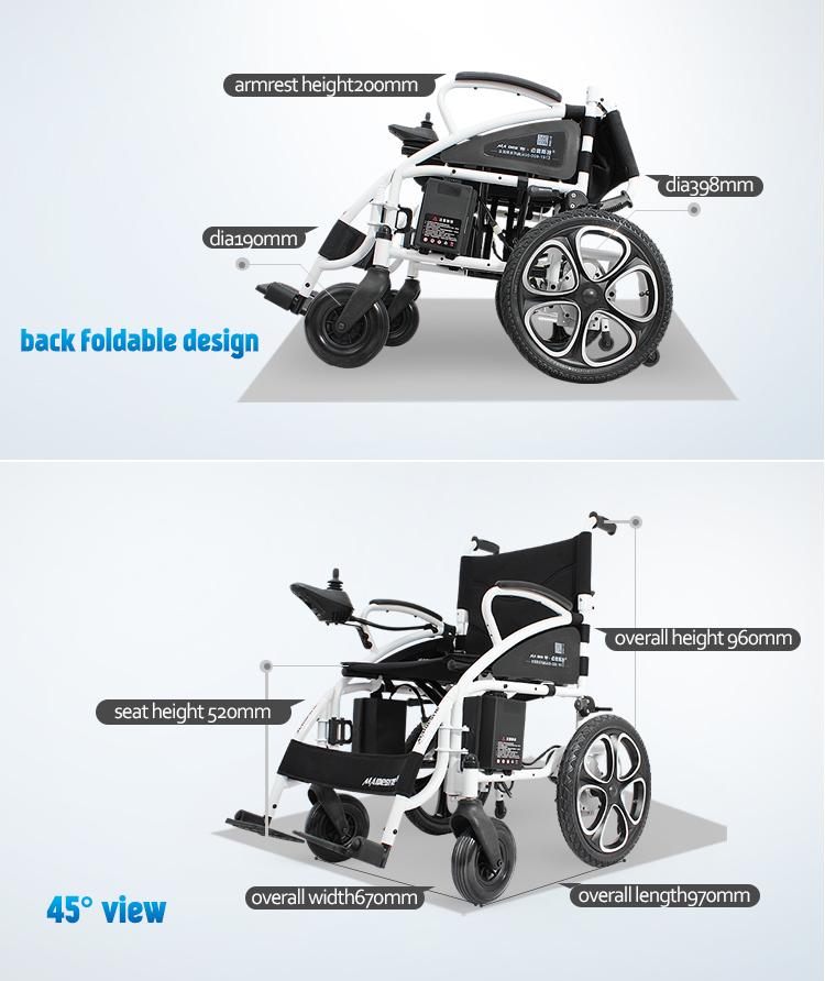 vente chaude pas cher prix handicappedfoldable lectrique fauteuil roulant produits. Black Bedroom Furniture Sets. Home Design Ideas
