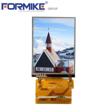 2.8 inch 240x320 Portrait QVGA Sodering type Resistive Touch Lcd screen displays
