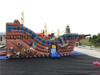 New arrival pirate ship inflatable boat for sale