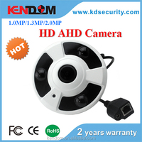 Kendom HD 2.0 Megapixel AHD CCTV Security 360 Degree Fisheye IR Array Leds Home Panoramic Camera 1080P Surveillance with Sony Se