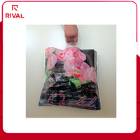 impressive quality custom made plastic shopping bags with carriers