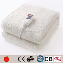 luxury Portable Rechargeable Heated underblankets electric blanket 220v
