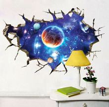 Defend the Planet 3D wall sticke for Decals Decor
