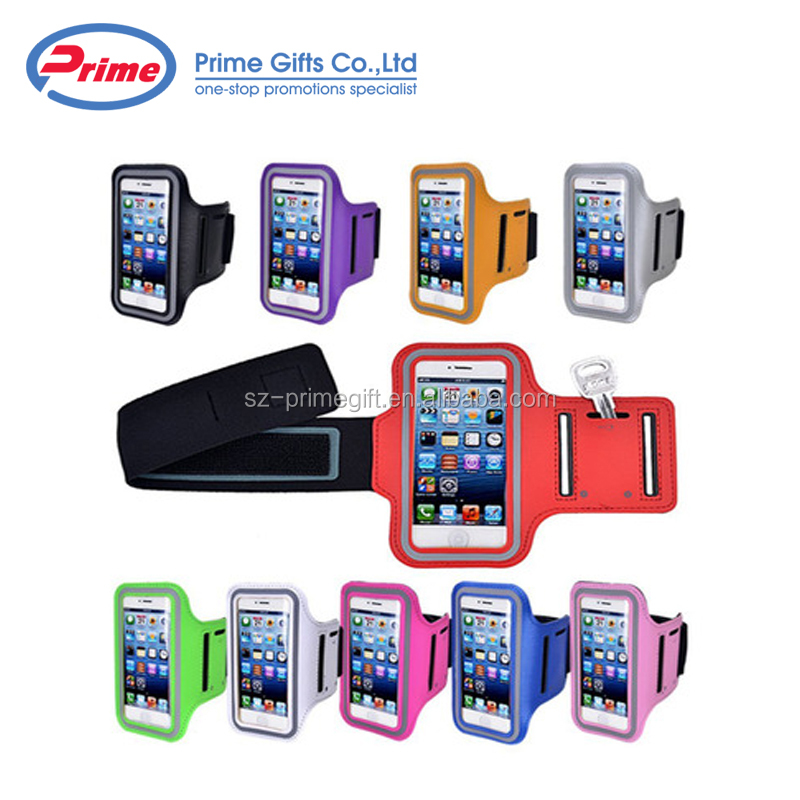 Hot Selling Elastic Sports Running Cell Phone Armband with Custom Logo