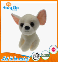 Customized small-scale simulation big ear plush dog toys