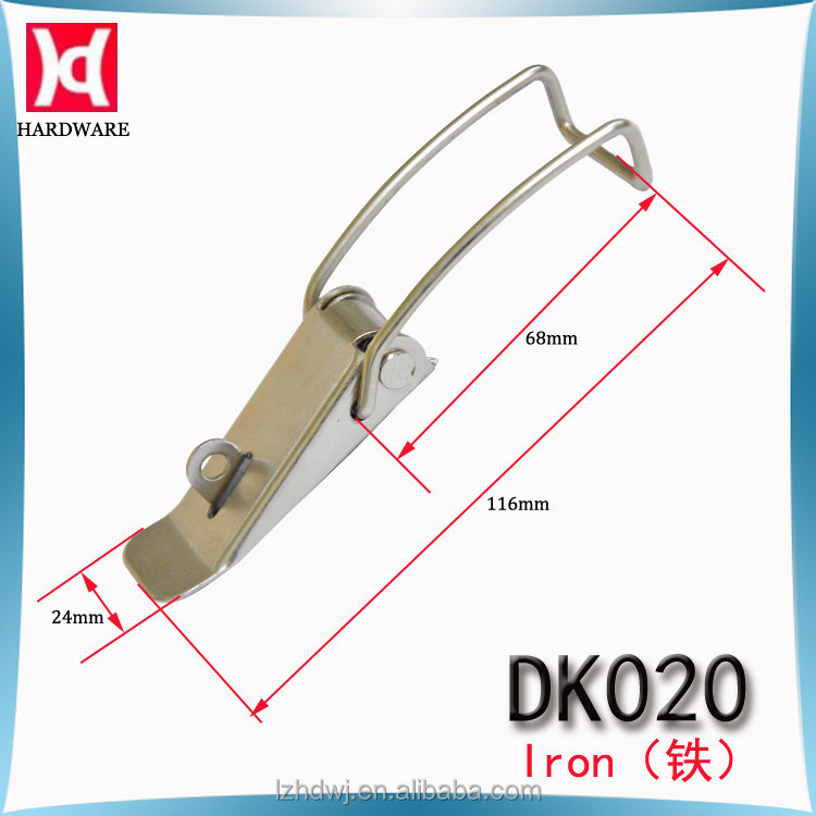 China Wholesale Spring Loaded Toggle Rotary Latch / Toggle Clamp Clasp Lock / DK020
