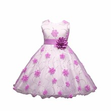Baby girl party dress children frocks designs L7790