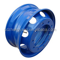 22.5 big tubeless truck wheels for commercial truck