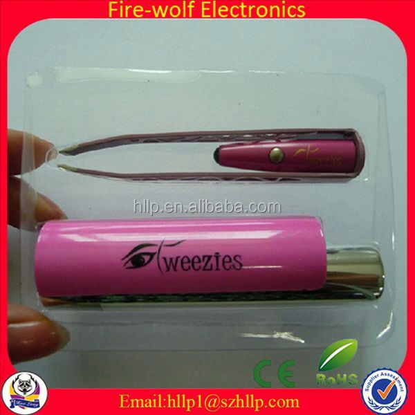 2014 Most Practical Products advertising eyebrow tweezers with magnifying glass
