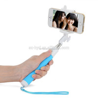 NT-ST006 travel essential wireless monopod bluetooth selfie stick with shutter for mobile phone