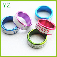2015 Special band rings pigeon rings