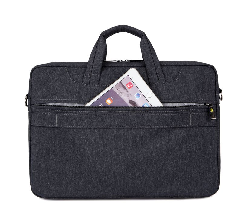 High quality polyester laptop messenger bag