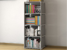 Home fabric furniture bookcase for living room book shelf and office bookcase