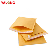 Factory Wholesale Custom Printed Adhesive Padded Kraft Bubble Envelope