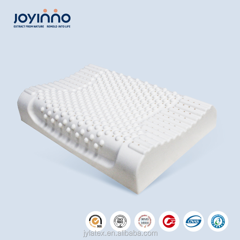 natural latex neck roll king granule pillow