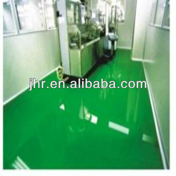 color sand epoxy floor coating Smooth and bright coating