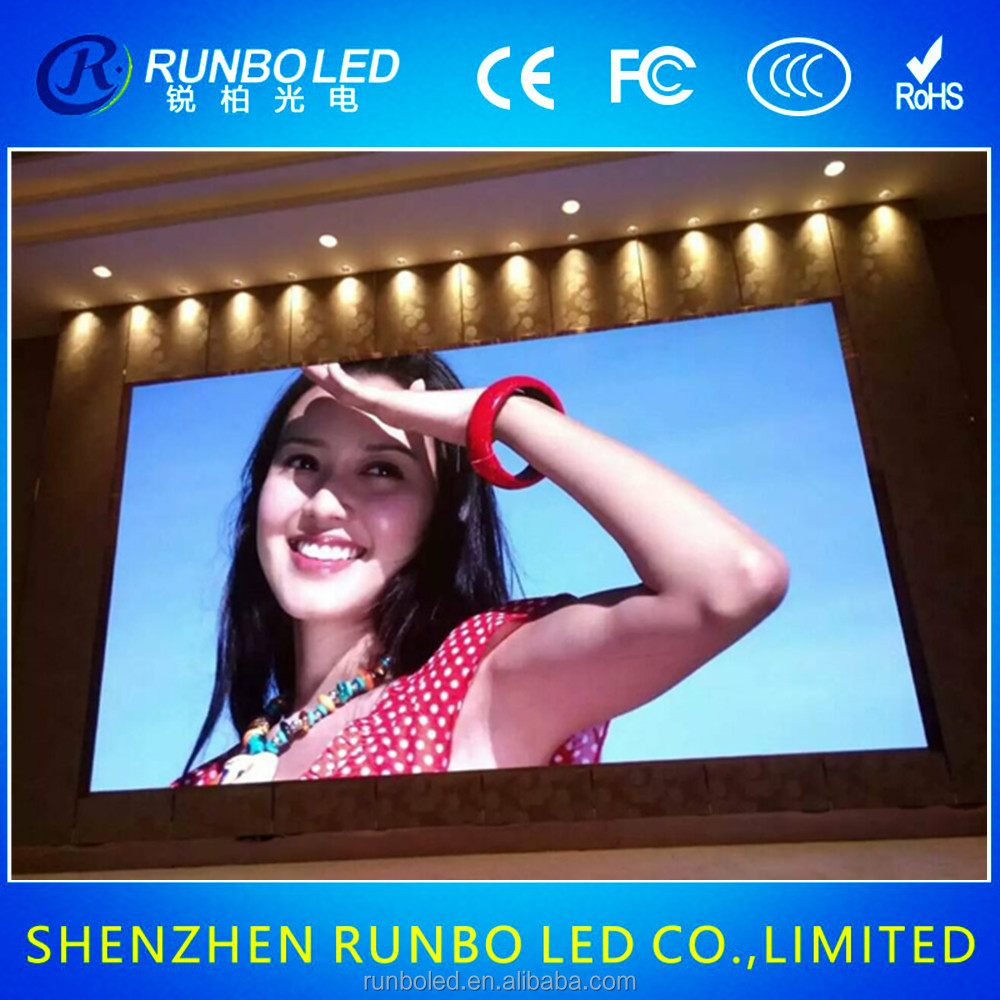Brand new SMD full color P3/P4/P5/P6 indoor stage/wedding/night club/LED display