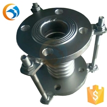 flange corrugated pipe metal stainless steel bellows compensator