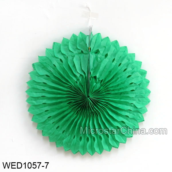 Honeycomb Tissue Paper Fan For Wedding Decortions