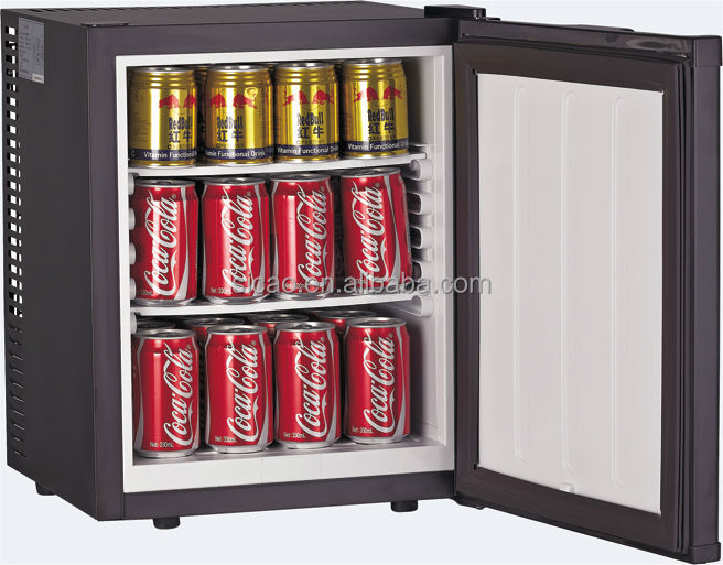 28l mini bar fridge with glass door for commercial