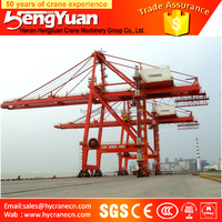 Heavy Duty Ship to Shore Container Lifting Gantry Crane and STS Crane