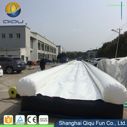 2017 hot crazy popular long summer fun water games custom 1000ft kids giant inflatable slip n slide city for big party on street
