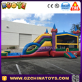 4 in 1 3D Skittles Combo inflatable jump bounce with banner