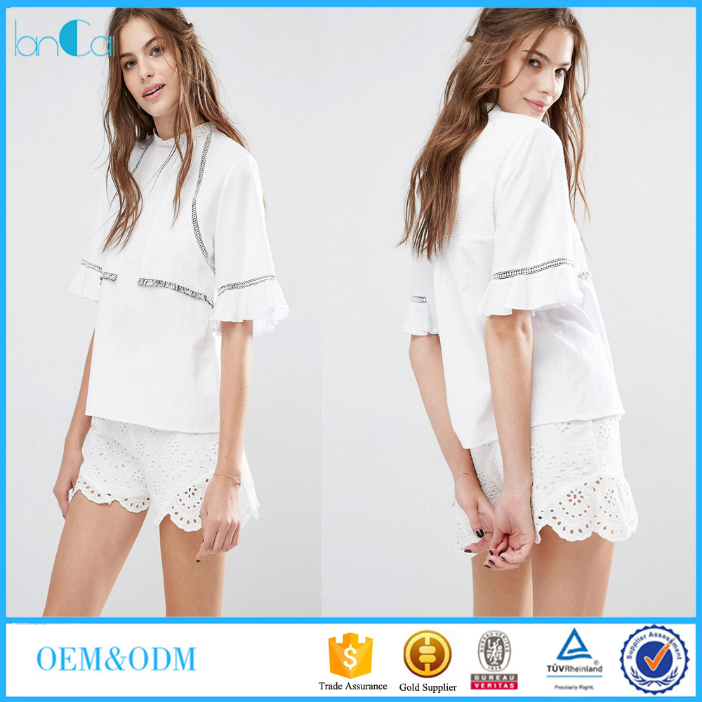 Белые Блузки Модные В Уфе