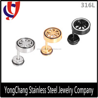 Body jewelry making supply surgical stainless steel thailand earrings