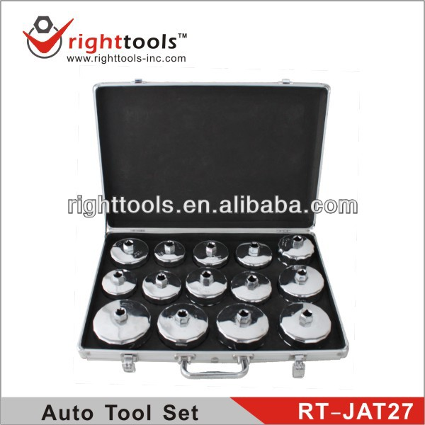 Right Tools 14 pcs Oil Filter Wrench tool box Set