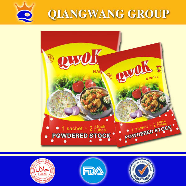 Chicken flavour seasoning powder for delicacy and meals