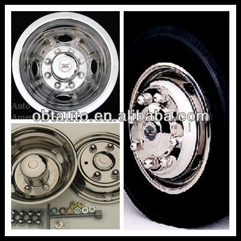 Wheel Simulator Stainless Steel Wheel Covers