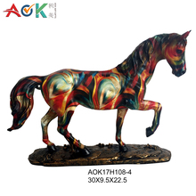 Eco-Friendly Horse Decor Resin Animal Figurines