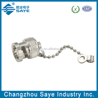 BNC Male Dustproof Cap With Chain-BNC Connector