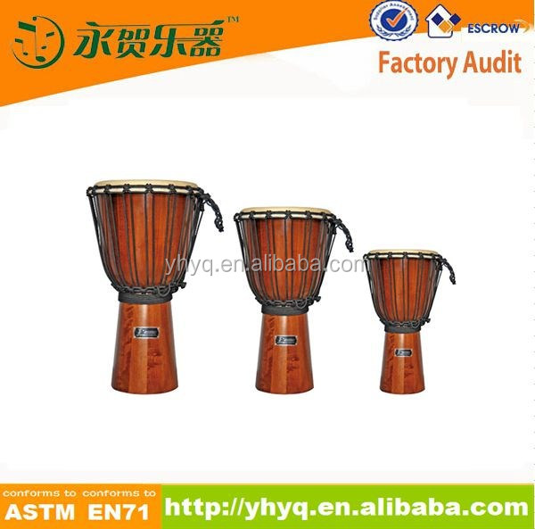 hot sale 100%safe baby wooden African Djembe,professional djembe with cheap price